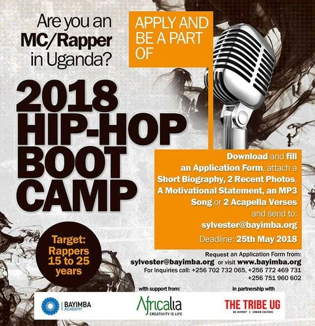 Poster 2018 Hip Hop Boot Camp