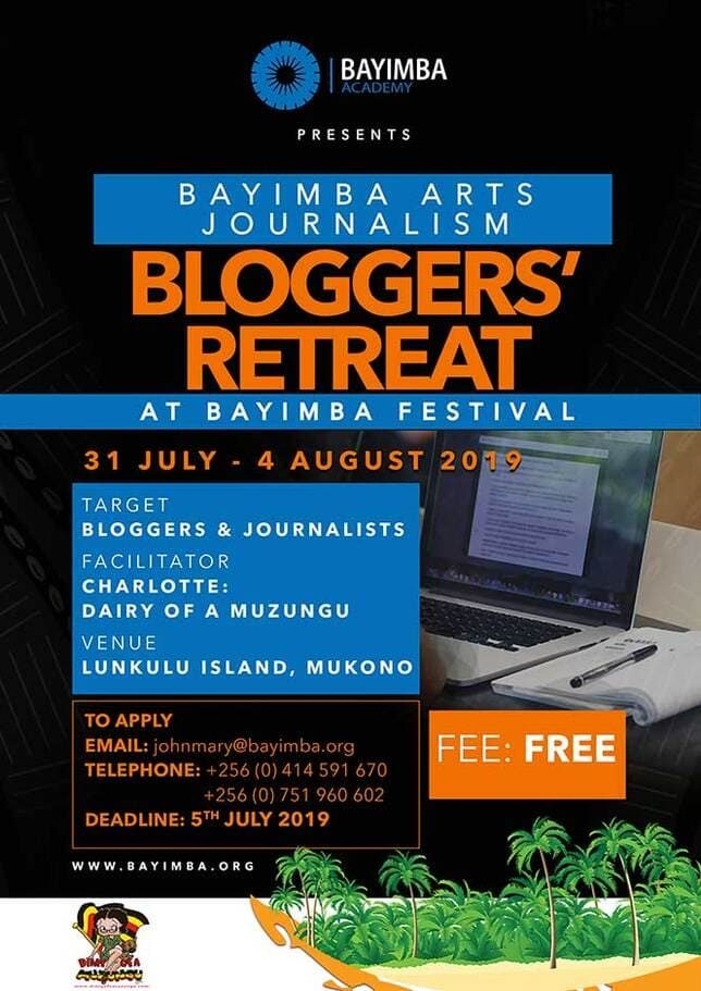 Poster 2019 Bloggers' Retreat