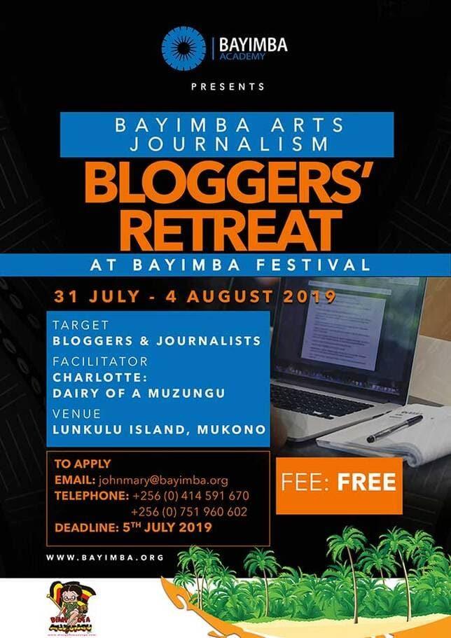Poster 2019 Bloggers' Retreat