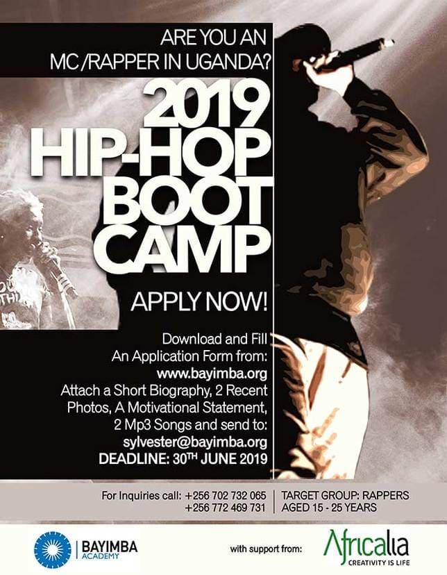 Poster 2019 Hip Hop Boot Camp