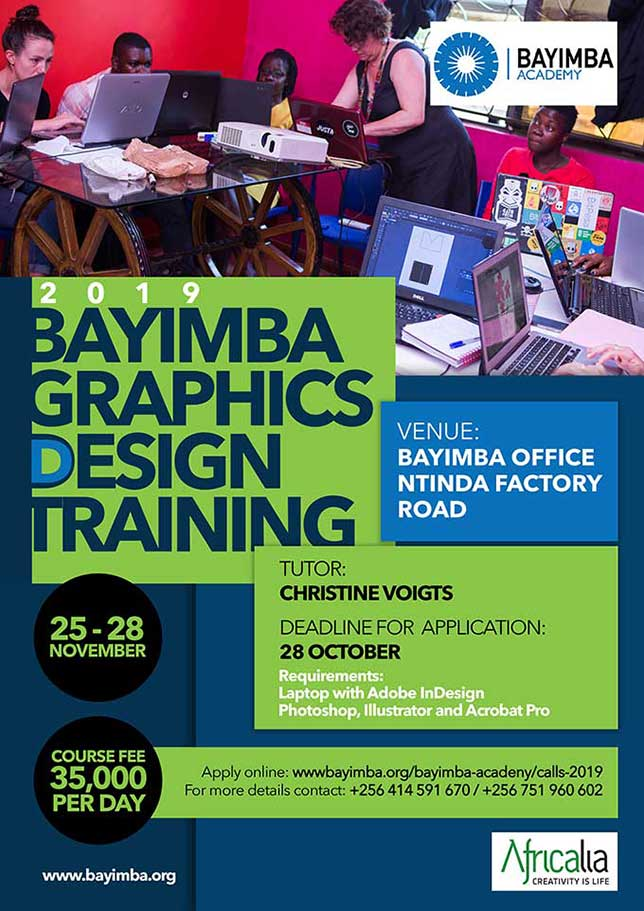 Poster 2019 Graphic Design Training