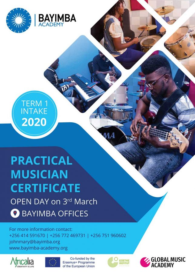 Open Day Practical Musician
