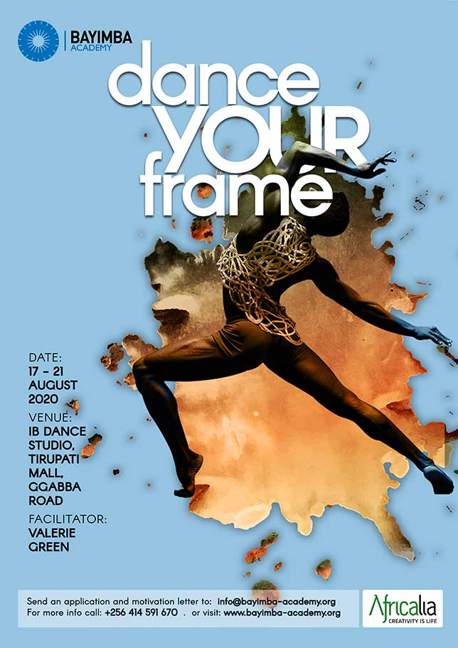 "Poster dance workshop ""Dance Your Frame"""