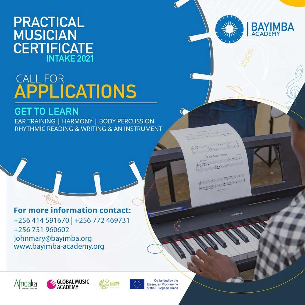 Practical Musician 2021 intake